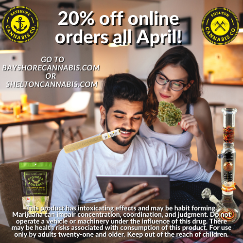 20% OFF ALL ONLINE ORDERS!